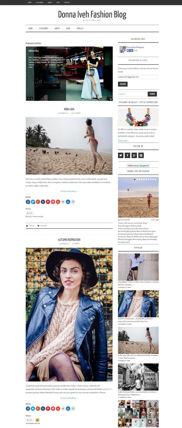 Donna Iveh Fashion Blog - by Iveta Horvathova (Medium)